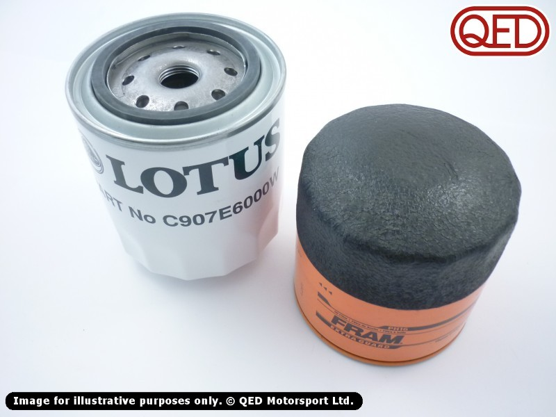 lotus 907 910 911 912 oil filter oe not oe qed motorsport. Black Bedroom Furniture Sets. Home Design Ideas