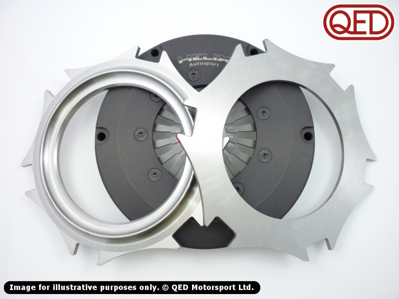 Lotus Twin Cam Twin plate clutch assembly, 7 1/4'' (184mm)