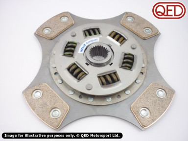 Clutch plate, 228mm, cerametallic, 4 paddle, Helix, various types