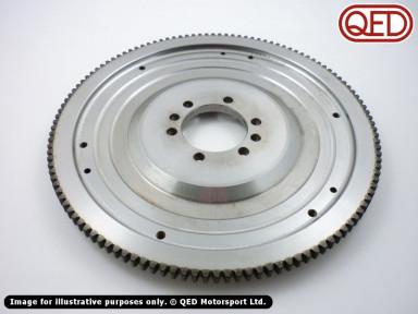 Steel flywheel, standard pattern, 215mm clutch
