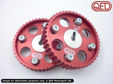 Vernier camshaft pulleys