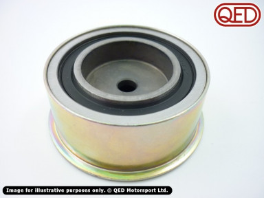 Cam belt idler pulley, steel, for early (round tooth) belts