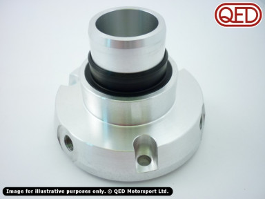 Coaxial clutch cylinder