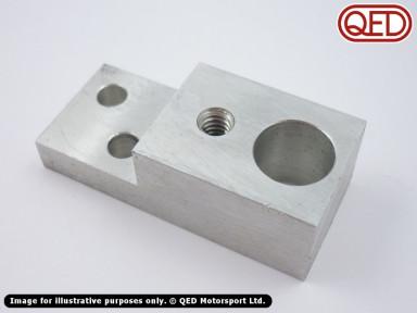 Crank sensor mounting block