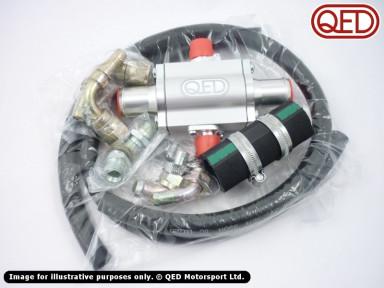Elise oil cooler kit