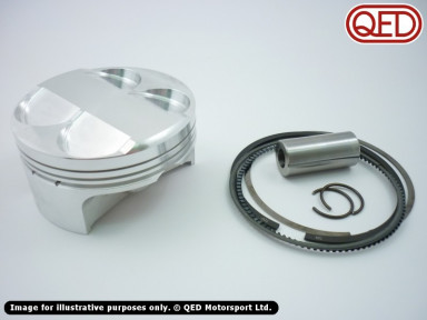 Forged pistons, Accralite, slipper, 88mm, 20mm pin