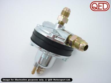 Fuel pressure regulator, various types