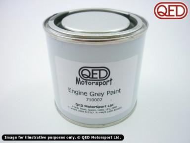 Grey engine paint, tin