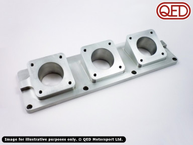 QED Inlet Manifold, for Jenvey SF Throttle Bodies