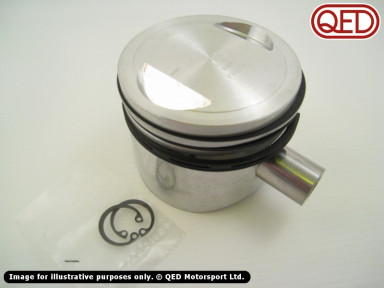 Forged pistons, QED standard type, various sizes